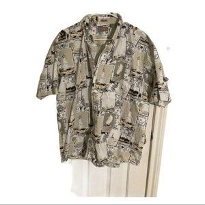Natural Issue button down short sleeve shirt